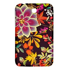 Autumn Flowers Pattern 6 Samsung Galaxy Tab 3 (7 ) P3200 Hardshell Case  by tarastyle