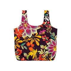 Autumn Flowers Pattern 6 Full Print Recycle Bags (s)  by tarastyle