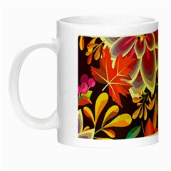 Autumn Flowers Pattern 6 Night Luminous Mugs by tarastyle
