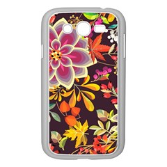 Autumn Flowers Pattern 6 Samsung Galaxy Grand Duos I9082 Case (white) by tarastyle