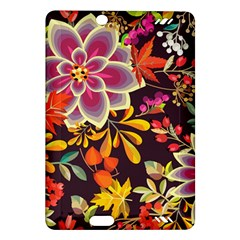 Autumn Flowers Pattern 6 Amazon Kindle Fire Hd (2013) Hardshell Case by tarastyle