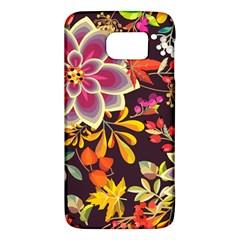 Autumn Flowers Pattern 6 Galaxy S6 by tarastyle