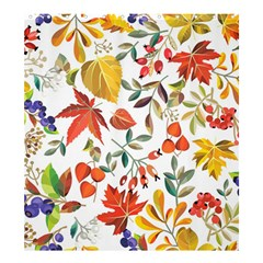Autumn Flowers Pattern 7 Shower Curtain 66  X 72  (large)  by tarastyle