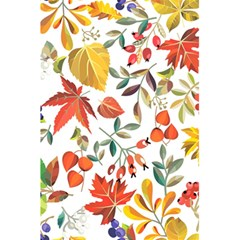 Autumn Flowers Pattern 7 5 5  X 8 5  Notebooks by tarastyle