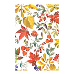 Autumn Flowers Pattern 7 Shower Curtain 48  X 72  (small)  by tarastyle