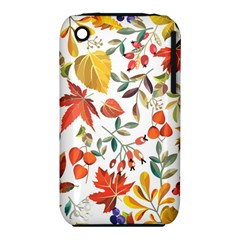 Autumn Flowers Pattern 7 Iphone 3s/3gs by tarastyle