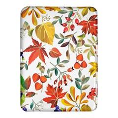 Autumn Flowers Pattern 7 Samsung Galaxy Tab 4 (10 1 ) Hardshell Case  by tarastyle
