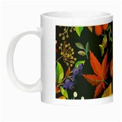 Autumn Flowers Pattern 8 Night Luminous Mugs by tarastyle