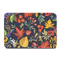 Autumn Flowers Pattern 8 Plate Mats by tarastyle