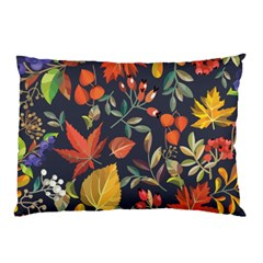 Autumn Flowers Pattern 8 Pillow Case by tarastyle
