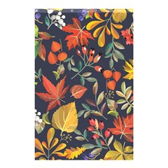 Autumn Flowers Pattern 8 Shower Curtain 48  X 72  (small)  by tarastyle