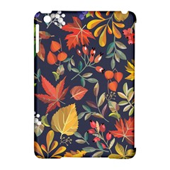 Autumn Flowers Pattern 8 Apple Ipad Mini Hardshell Case (compatible With Smart Cover) by tarastyle