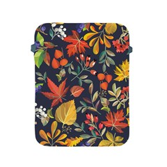Autumn Flowers Pattern 8 Apple Ipad 2/3/4 Protective Soft Cases by tarastyle