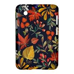 Autumn Flowers Pattern 8 Samsung Galaxy Tab 2 (7 ) P3100 Hardshell Case  by tarastyle
