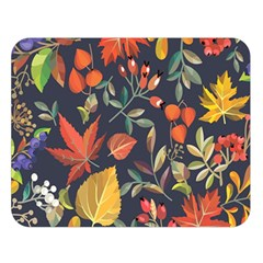 Autumn Flowers Pattern 8 Double Sided Flano Blanket (large)  by tarastyle