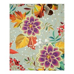 Autumn Flowers Pattern 9 Shower Curtain 60  X 72  (medium)  by tarastyle