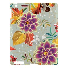 Autumn Flowers Pattern 9 Apple Ipad 3/4 Hardshell Case by tarastyle
