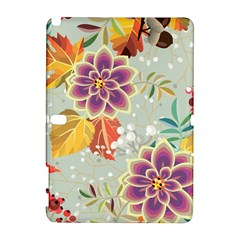 Autumn Flowers Pattern 9 Galaxy Note 1 by tarastyle