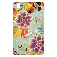 Autumn Flowers Pattern 9 Samsung Galaxy Tab Pro 8 4 Hardshell Case by tarastyle