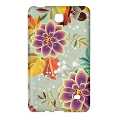 Autumn Flowers Pattern 9 Samsung Galaxy Tab 4 (8 ) Hardshell Case  by tarastyle