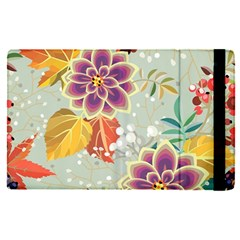 Autumn Flowers Pattern 9 Apple Ipad Pro 9 7   Flip Case by tarastyle