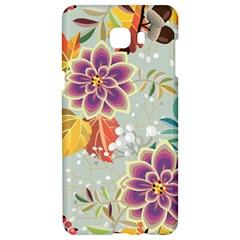 Autumn Flowers Pattern 9 Samsung C9 Pro Hardshell Case  by tarastyle