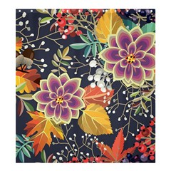 Autumn Flowers Pattern 10 Shower Curtain 66  X 72  (large)  by tarastyle