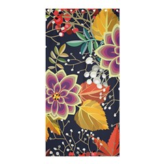 Autumn Flowers Pattern 10 Shower Curtain 36  X 72  (stall)  by tarastyle