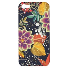 Autumn Flowers Pattern 10 Apple Iphone 5 Hardshell Case by tarastyle