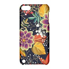 Autumn Flowers Pattern 10 Apple Ipod Touch 5 Hardshell Case With Stand by tarastyle