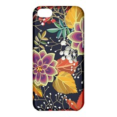 Autumn Flowers Pattern 10 Apple Iphone 5c Hardshell Case by tarastyle
