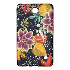Autumn Flowers Pattern 10 Samsung Galaxy Tab 4 (8 ) Hardshell Case  by tarastyle