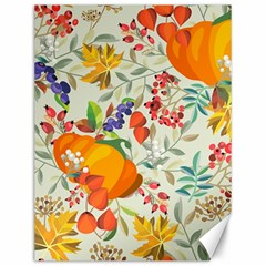 Autumn Flowers Pattern 11 Canvas 12  X 16   by tarastyle