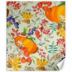 Autumn Flowers Pattern 11 Canvas 20  X 24   by tarastyle