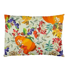 Autumn Flowers Pattern 11 Pillow Case by tarastyle