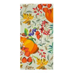 Autumn Flowers Pattern 11 Shower Curtain 36  X 72  (stall)  by tarastyle