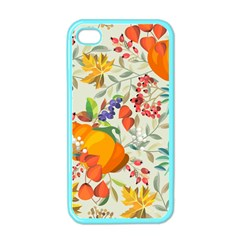 Autumn Flowers Pattern 11 Apple Iphone 4 Case (color) by tarastyle