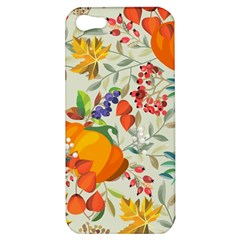 Autumn Flowers Pattern 11 Apple Iphone 5 Hardshell Case by tarastyle