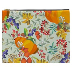Autumn Flowers Pattern 11 Cosmetic Bag (xxxl)  by tarastyle