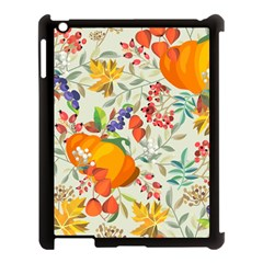 Autumn Flowers Pattern 11 Apple Ipad 3/4 Case (black) by tarastyle