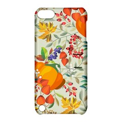 Autumn Flowers Pattern 11 Apple Ipod Touch 5 Hardshell Case With Stand by tarastyle