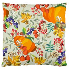 Autumn Flowers Pattern 11 Standard Flano Cushion Case (two Sides) by tarastyle