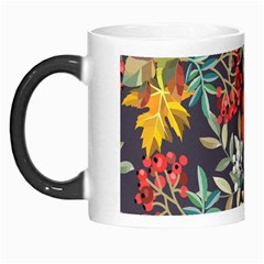 Autumn Flowers Pattern 12 Morph Mugs by tarastyle