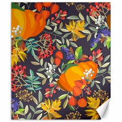 Autumn Flowers Pattern 12 Canvas 20  X 24   by tarastyle