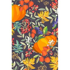 Autumn Flowers Pattern 12 5 5  X 8 5  Notebooks by tarastyle