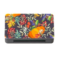 Autumn Flowers Pattern 12 Memory Card Reader With Cf by tarastyle