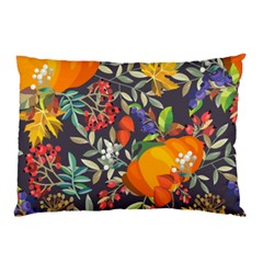 Autumn Flowers Pattern 12 Pillow Case (two Sides) by tarastyle