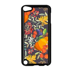 Autumn Flowers Pattern 12 Apple Ipod Touch 5 Case (black) by tarastyle