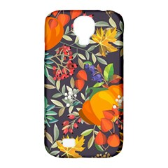 Autumn Flowers Pattern 12 Samsung Galaxy S4 Classic Hardshell Case (pc+silicone) by tarastyle