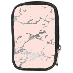 Luxurious Pink Marble 1 Compact Camera Cases by tarastyle